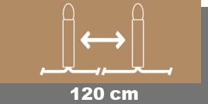120cm-Lampenabstand